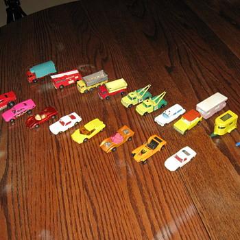 MATCH BOX CARS 1969-1973