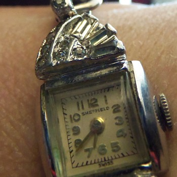 Sheffield Diamond Watch with Speigel stretch band