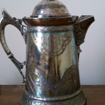 Coffee or Water pitcher  - Silver