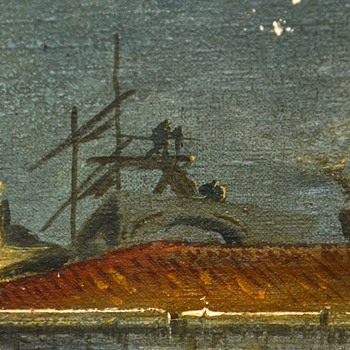 Francesco or Giacomo Guardi Painting - real??!!