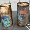 Pepsi Cola and Diet Pepsi cans.