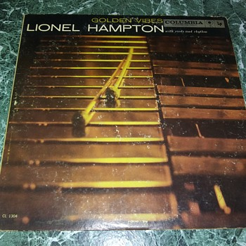 Percussionist Mr. Lionel Hampton...On 33 1/3 RPM Vinyl - Records