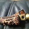 Antler folk art (cigar cutter?)
