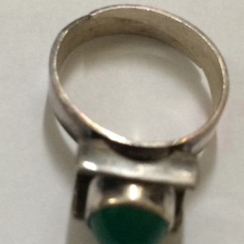 Danish Mid Century Silver Ring