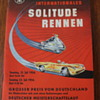 1956 motorcycle race program for Solitude Rennen, and some family history