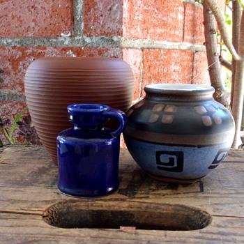 WGP Dumler & Brieden 50's Ceramic Vase - Pottery