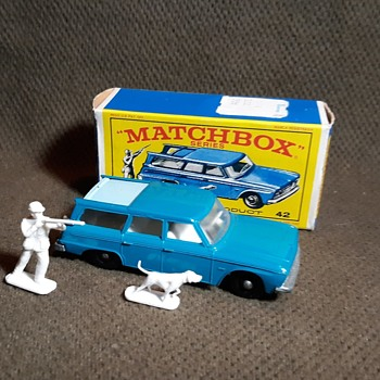 Mainly Maligned Matchbox Monday MB42 Studebaker Station Wagon 1967-1968 - Model Cars