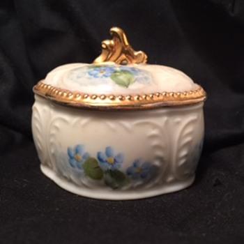 Porcelian Trinket From My Childhood