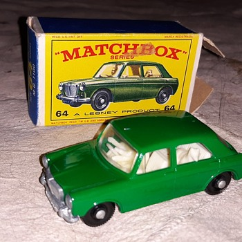 More Mini Micro Matchbox Monday MB 64 M.G. 1100 1966 - Model Cars
