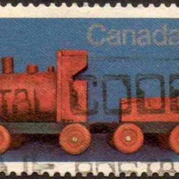"1979 - Canada ""Christmas - Toys"" Postage Stamps"