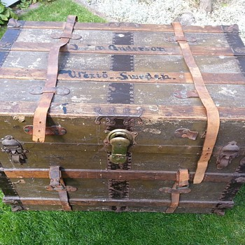 A trunk from the Lusitania