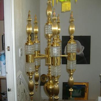 strange floor lamp - Lamps