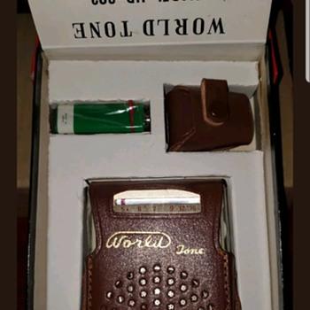 World Tone 8 Transistor Radio--In orginal box/plastic ..unused - Radios