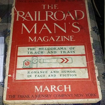Railroad magazines