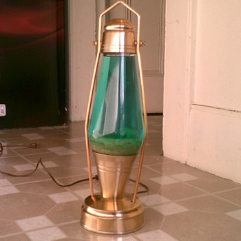Antique Lava Lamp (Mathmos astro lantern) - Lamps