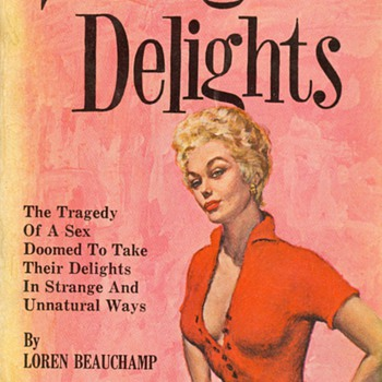 Strange Delights by Loren Beauchamp  - Books