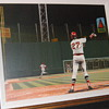 Bill Purdom Oil Painting of Carlton Fisk