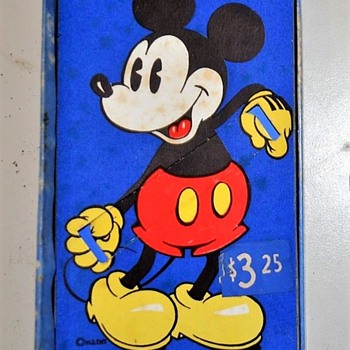 The Differences in the Blue Box Mickey Mouse Watches 1935-37 - Wristwatches