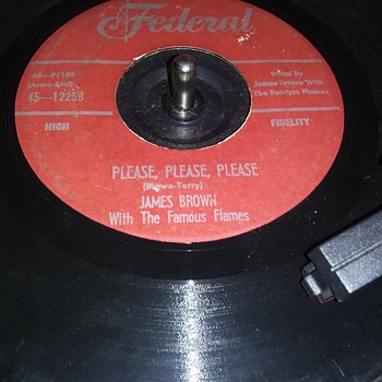THE FIRST FROM THE GODFATHER OF SOUL - Records