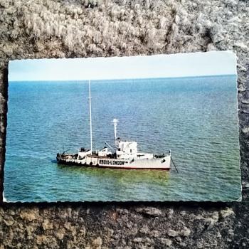Postcard, pirate radio ship London, July 1966. - Postcards