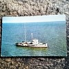 Postcard, pirate radio ship London, July 1966.