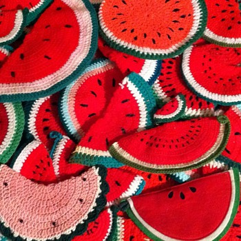 Watermelon Potholders - Kitchen