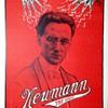 "Original ""Newmann The Great"" Stone Lithograph window Card"
