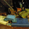 Desk War One, some fun with toy soldiers.