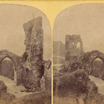 Hastings Castle - Photographs