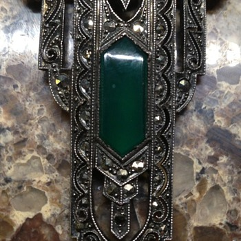 Sterling and Marcasite (pendant?) - Fine Jewelry