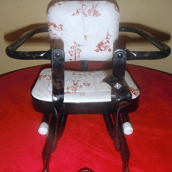Vintage Bicycle Child's Seat - Furniture