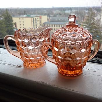 Cubist Jeannette Depression Glass 1929-1933. Mint. - Glassware
