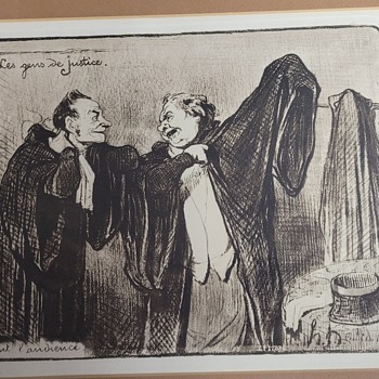 Les Gens De Justice by Honoré Daumier - Posters and Prints