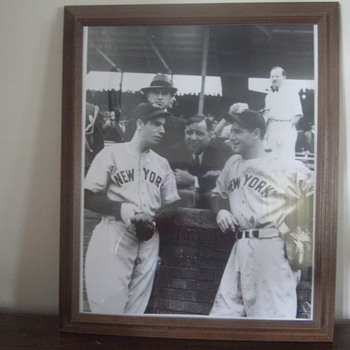 Game 1 1938 World Series Photo