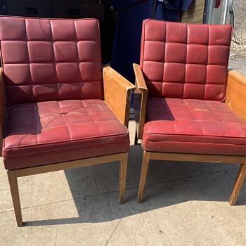 Johnson Chair?  Gunlocke? - Furniture