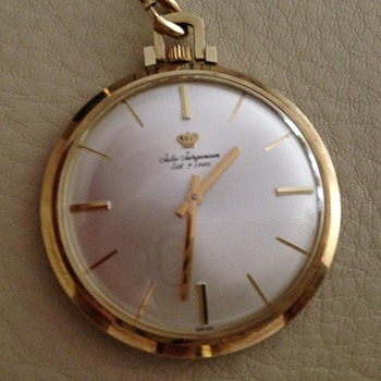 Jules Jurgensen pocket watch - Pocket Watches