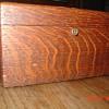 Antique Tiger Oak Jewett Humidor...With Key