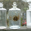 3   antique medicine bottles