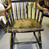 One Solid Harvard Chair