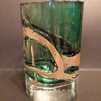 Atelier Beranek vase - Art Glass