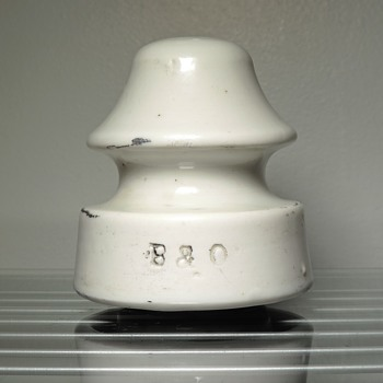 B&O Railroad Insulator Porcelain Products Company Baltimore and Ohio Vintage Antique Collectible U239-A - Railroadiana