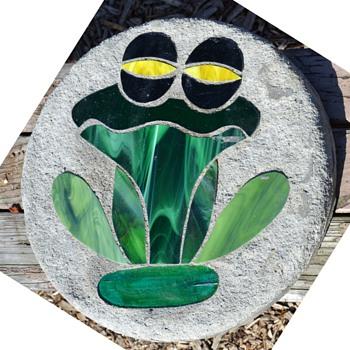 Slag Glass Mosaic Pavers - Animals