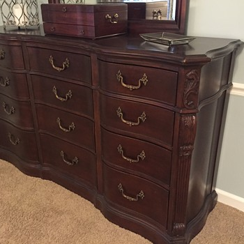 Searching for pieces to this Bassett Dresser  - Furniture