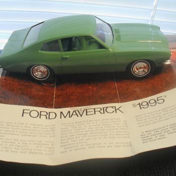 1970 Maverick promo by Jo-Han