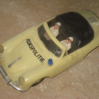 1960-70s Rijkspolitie toycar - Model Cars