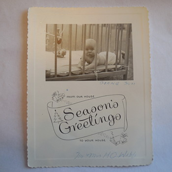Season's Greetings, Merry Christmas And A Happy New Year, from Down On The Farm 1912 Photo Postcards - Photographs
