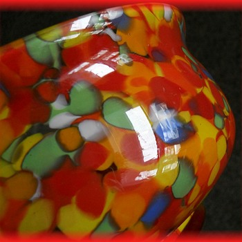 Czech large Bowl ----> ( Part II of II ) - Art Glass