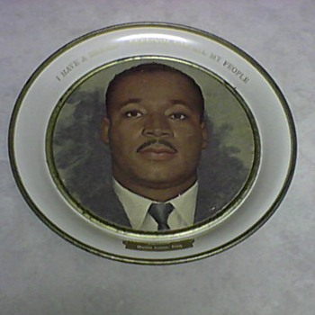MARTIN LUTHER KING JR. TIN 1964 - Politics