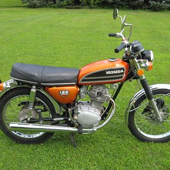 1974 Honda CB125 S1 - Motorcycles