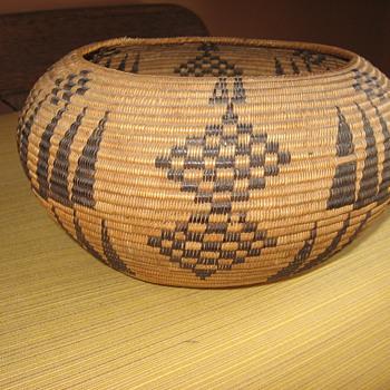 my native american basket - Native American
